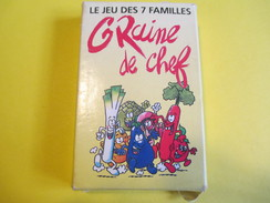 """Jeux 7 Familles Publicitaire/""""Graine De Chef""""/Pomme Terre-Carotte-Champi-etc/Générale De Restauration/Vers1990     CAJ12 - Jeux De Société"""