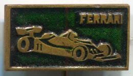 FERRARI - Car, Auto, Vintage Pin, Badge - Ferrari
