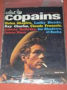 SALUT LES COPAINS  N° 6 /  DU 6 JANVIER 1963 / LES SHADOWS /- LUCKY BLONDO - RAY CHARLES - CLAUDE FRANCOIS -  HALLYDAY - Muziek