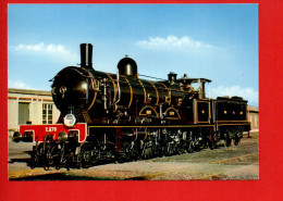 """Locomotive """"Atlantic"""" 2.670 NORD (Photo M. Lamarche)Chemins De Fer - Trains"""