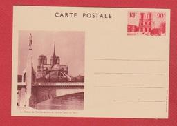 Entier Postal Spécial / CP 1 / Notre Dame De Paris / NEUF