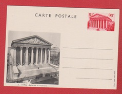 Entier Postal Spécial / CP 1 / Vues De Paris  / La Madeleine / NEUF