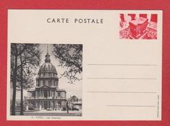 Entier Postal Spécial / CP 1 / Vues De Paris  / Les Invalides / NEUF