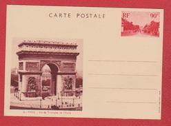 Entier Postal Spécial / CP 1 / Vues De Paris  / Arc De Triomphe / NEUF