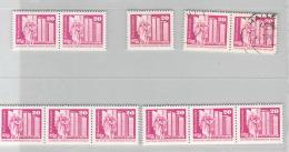 R DDR Micher # 1869R   Rollenmarken   4x  **, 1x  Mit Stempel Halle - DDR