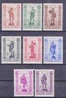 BELGIQUE/BELGIE/BELGIUM/BELGIEN -1943 -Nrs 615....622  Y&T - Serie Complet-volledige Serie - ° - Belgique
