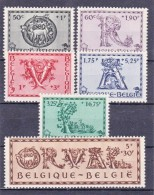 BELGIQUE/BELGIE/BELGIUM/BELGIEN -1943 -ORVAL -Nrs 625....630  Y&T - Serie Complet-volledige Serie - ** - Belgique