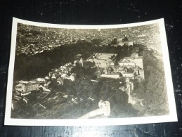 PHOTO AERIENNE VUE GENERALE DE GRENADE - VUE D´AVION - ESPAGNE (pochette Bleu) - Granada