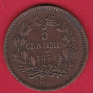 Luxembourg - 5 Centimes - 1854 - Luxembourg