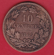 Luxembourg - 10 Centimes - 1865 - Luxembourg