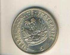 Haiti V. 1975  5 Centimes (Kanone) (49136) - Haiti