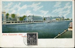 15623 France, Special Card For The Paris  Exposition Du 1900, Avec Vignette  De L'expo Universel  Bruxelles - 1900 – Paris (Frankreich)
