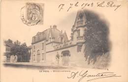 78 - LES YVELINES - Le Pecq - Maison Ancienne - Beau Cliché Précurseur - Le Pecq