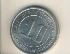 Nicaragua V. 1974  10 Centavos  (49138) - Nicaragua