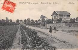 78 - LES YVELINES - Montigny - Route De La Gare Du Nord - Montigny Le Bretonneux