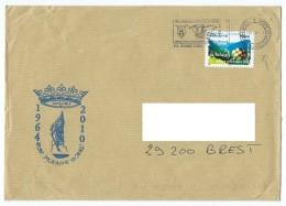 15409 - PH JEANNE D'ARC - DERNIÈRE MISSION - Tampon Carré OMS - MATRICE DE LA FLAMME A L'ENVERS (Format 160X230) - Marcophilie (Lettres)