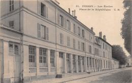 78 - LES YVELINES - Poissy - Les écoles - Place De La République - Poissy