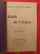 Guide De L'Anjou. 1909. Syndicat D'initiative De L'anjou. Angers Cholet Saumur Baugé Segré Loire - Pays De Loire