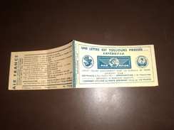 FRANCE:Carnet Complet De Vignettes PAR AVION Novembre 1939 - Blocks & Sheetlets & Booklets