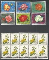 KHOR FAKKAN - MANAMA - MNH - Plants - Flowers - Roses - Perf. + Imperf. - Roses