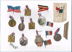 Lot Epinglettes Journées Du Poilu Journée Des Horphelins Journée Du 75....Voir Scans - 1914-18