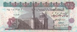 EGYPT 100 EGP 2000  P-67 SIG/ ISMAEL #19 UNC */* - Egypt