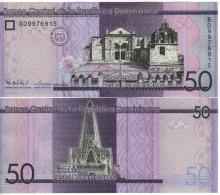 DOMINICAN   Rep.   New Issue   50  Pesos Dominicanos    Pnew   NEW DATE  2015 - República Dominicana