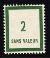 FRANCE FICTIF N°  F80 ** Timbre Neuf Gomme D´origine Sans Trace De Charnière - TB - Phantomausgaben