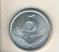 Mali V. 1961  5 Francs  (49140) - Mali (1962-1984)