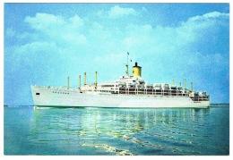 RB 1128 - P & O Ship Postcard - Orcades - Shipping Maritime Theme - Paquebote