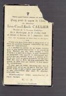 1872 LEON CAULIER MORBEEQUE 1905 + 1931 - Devotion Images