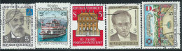 Austria 1987 Usato - Mi.1889/93  Yv.1718/22 - 1945-.... 2a Repubblica