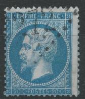 Lot N°32718   N°22, Oblit GC 2272 MAUBEUGE (57) - 1862 Napoleon III