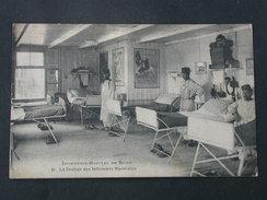 Ref5522 CPA Animée Infirmerie Hopital De Spire - Le Dortoir Des Infirmiers Marocains N°31 - 1924 Cormault Imp. - Andere
