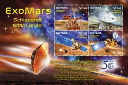Guyana-2016-space-exomars Sheetlet - Ohne Zuordnung