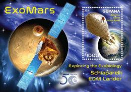 Guyana-2016-space-exomars S/s - Ohne Zuordnung