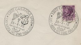 1970 Italia Casarsa Pordenone Vini Enologia Vigneti Vineyard Wines Vins Vigne Vendanges - Wines & Alcohols