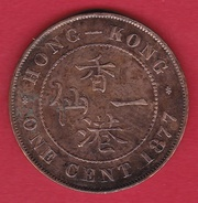 Hong Kong - 1 Cent 1877 - Hongkong