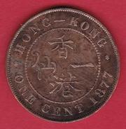 Hong Kong - 1 Cent 1877 - Hong Kong