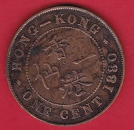 Hong Kong - 1 Cent 1880 - Hongkong