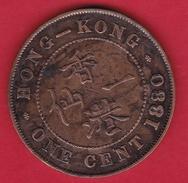 Hong Kong - 1 Cent 1880 - Hong Kong