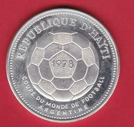 Haïti - 50 Gourdes Argent 1978 - Coupe Du Monde De Football - SUP - Haiti