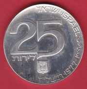 Israël - 25 Lirot - Argent - 1977 - Israel