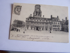 Boulogne Sur Mer- Place Du Palais De Justice Et Beffroi - Boulogne Sur Mer