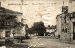 BUSSIERE BADIL PLACE DE LA MAIRIE LE BASSIN MONOLITHE - France