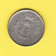 BELGIUM  1 FRANC 1959 (FRENCH) (KM # 142.1) - 04. 1 Franc