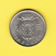 BELGIUM  1 FRANC 1977 (DUTCH) (KM # 143.1) - 1951-1993: Baudouin I