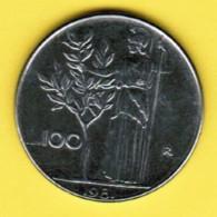 ITALY  100 LIRE 1981 (KM # 108) - 100 Lire