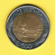 ITALY  500 LIRE 1982 (KM # 111) - 1946-… : Republic