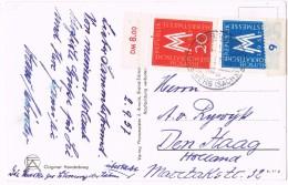 20018. Postal OBERSCHÖNA (Alemania DDR) 1957 To Holland - [6] República Democrática
